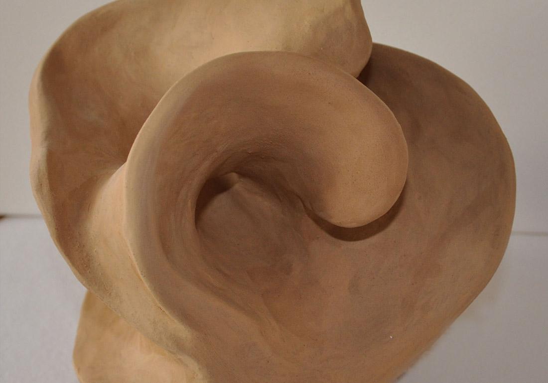Kunst Therapie Atelier | Öffnung- Tonplastik | A. Tanja Stögermair