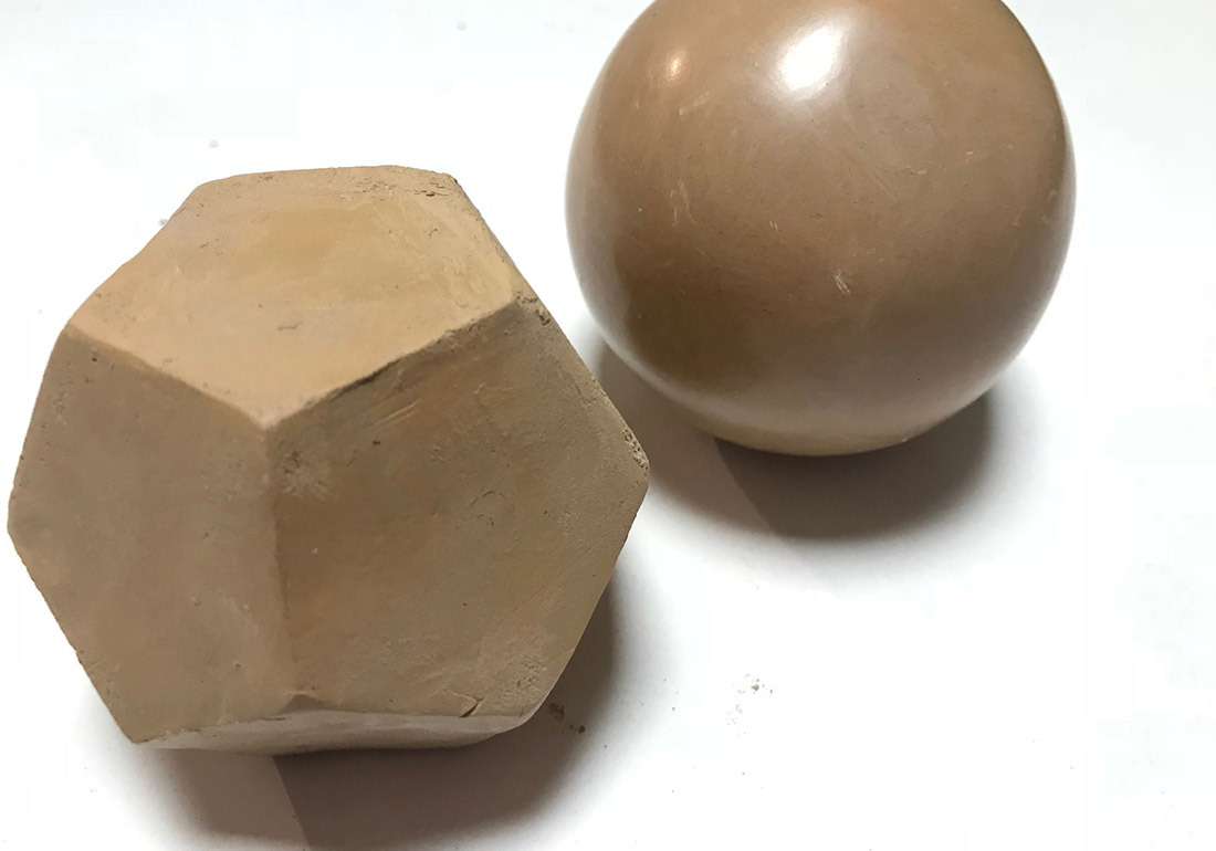 Dodekaeder aus der Kugel