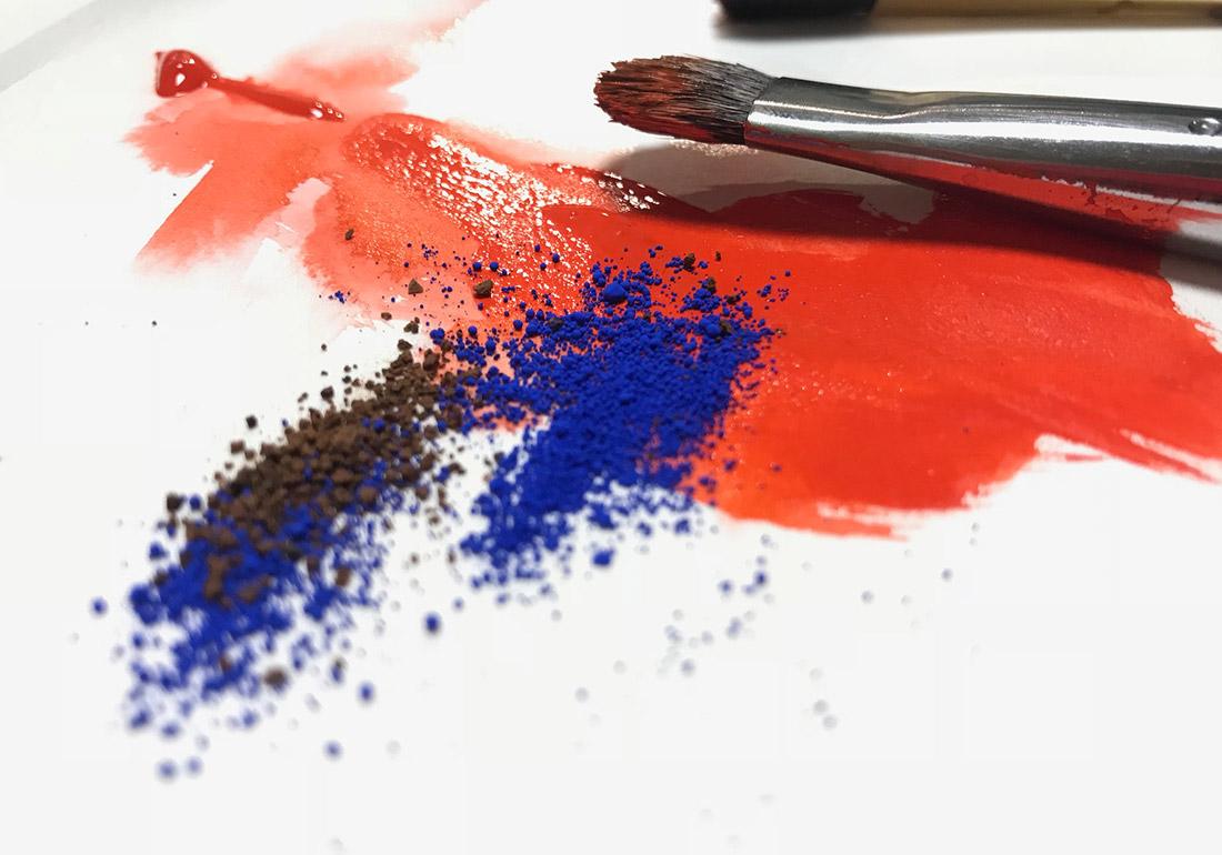 Pigmente und Farbe