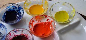 Kunst Therapie Atelier | Farbtöpfe | A. Tanja Stögermair