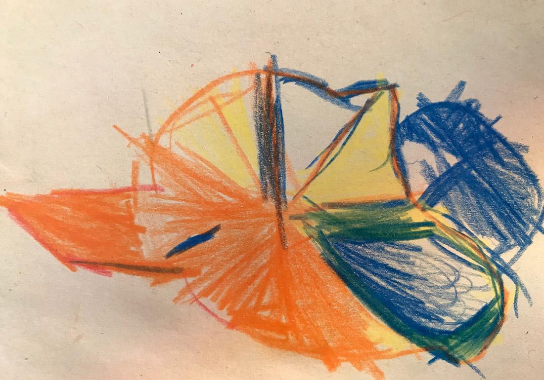 Kunst Therapie Atelier | Kinderzeichnung - Muster | A. Tanja Stögermair